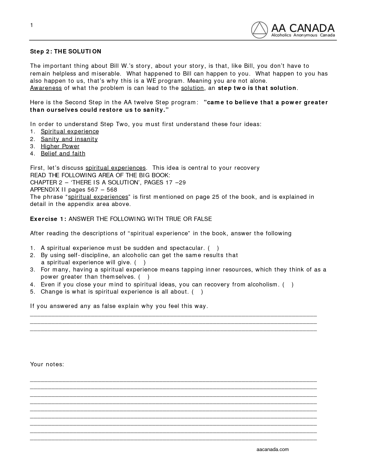 13 Best Images Of Mental Health Recovery Worksheets