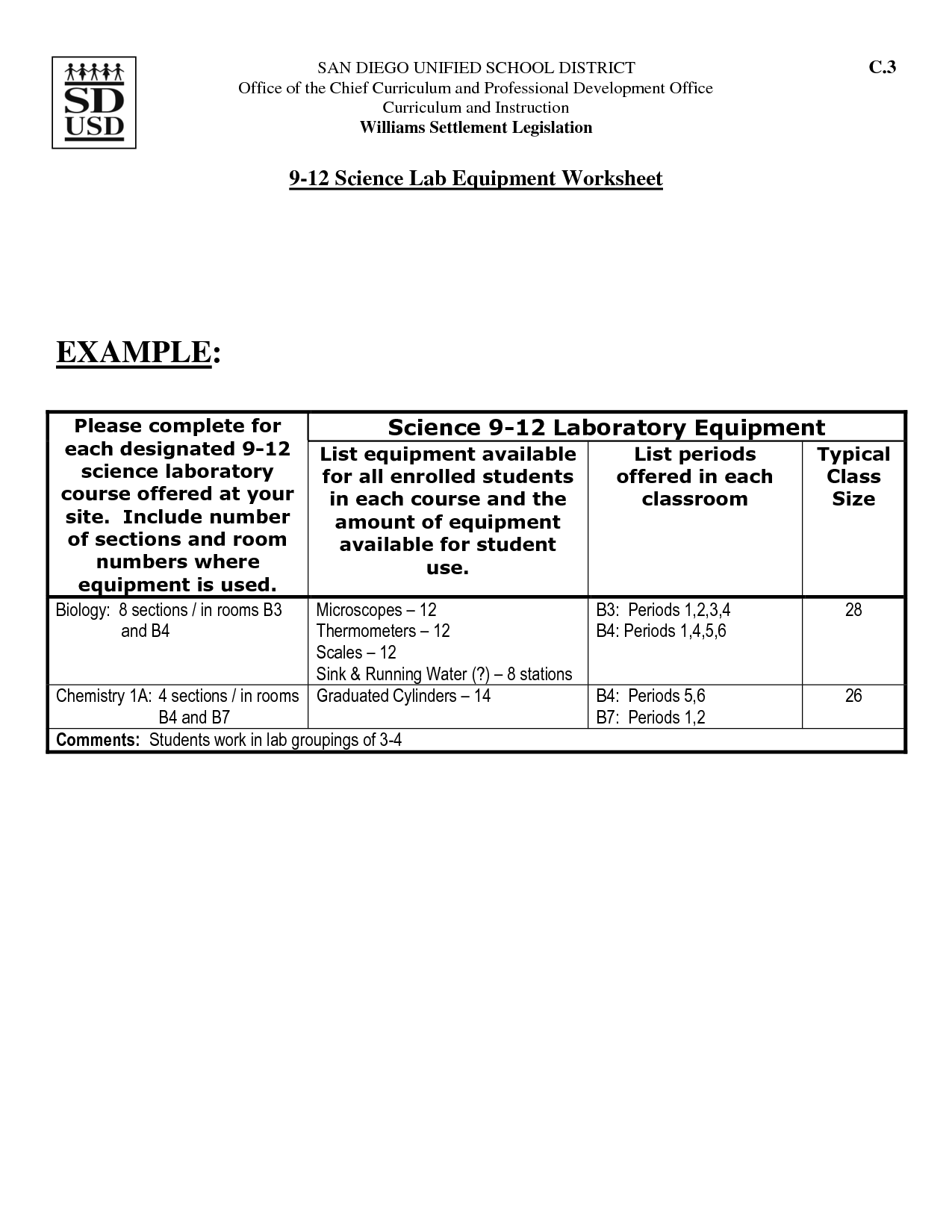 17 Best Images Of School Science Worksheets