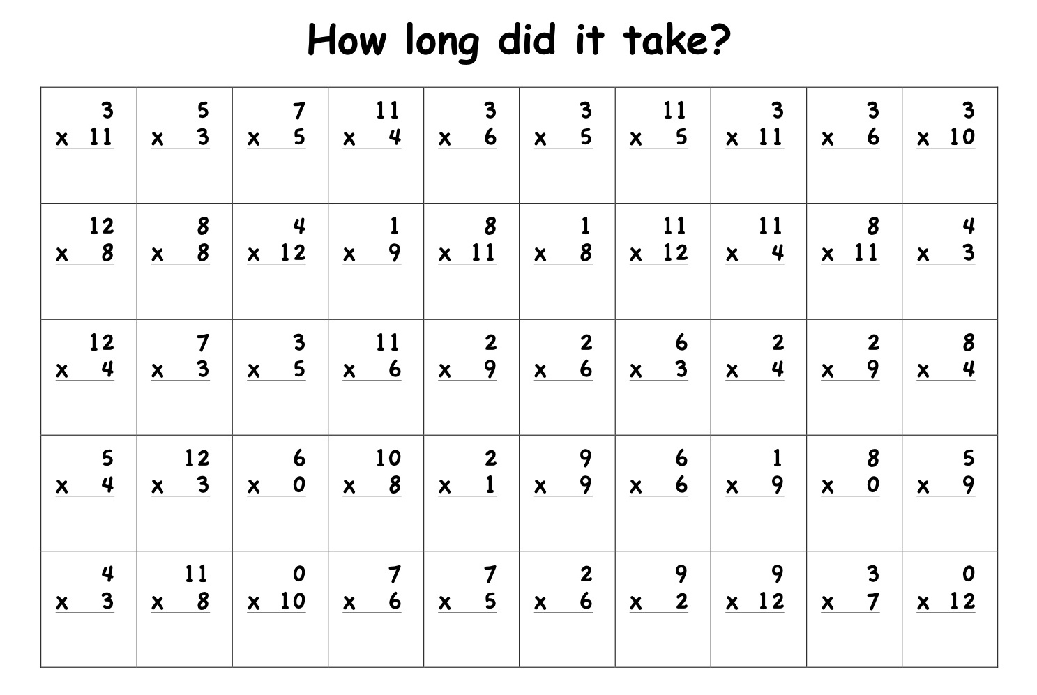 14 Best Images Of Free Repeated Addition Worksheets
