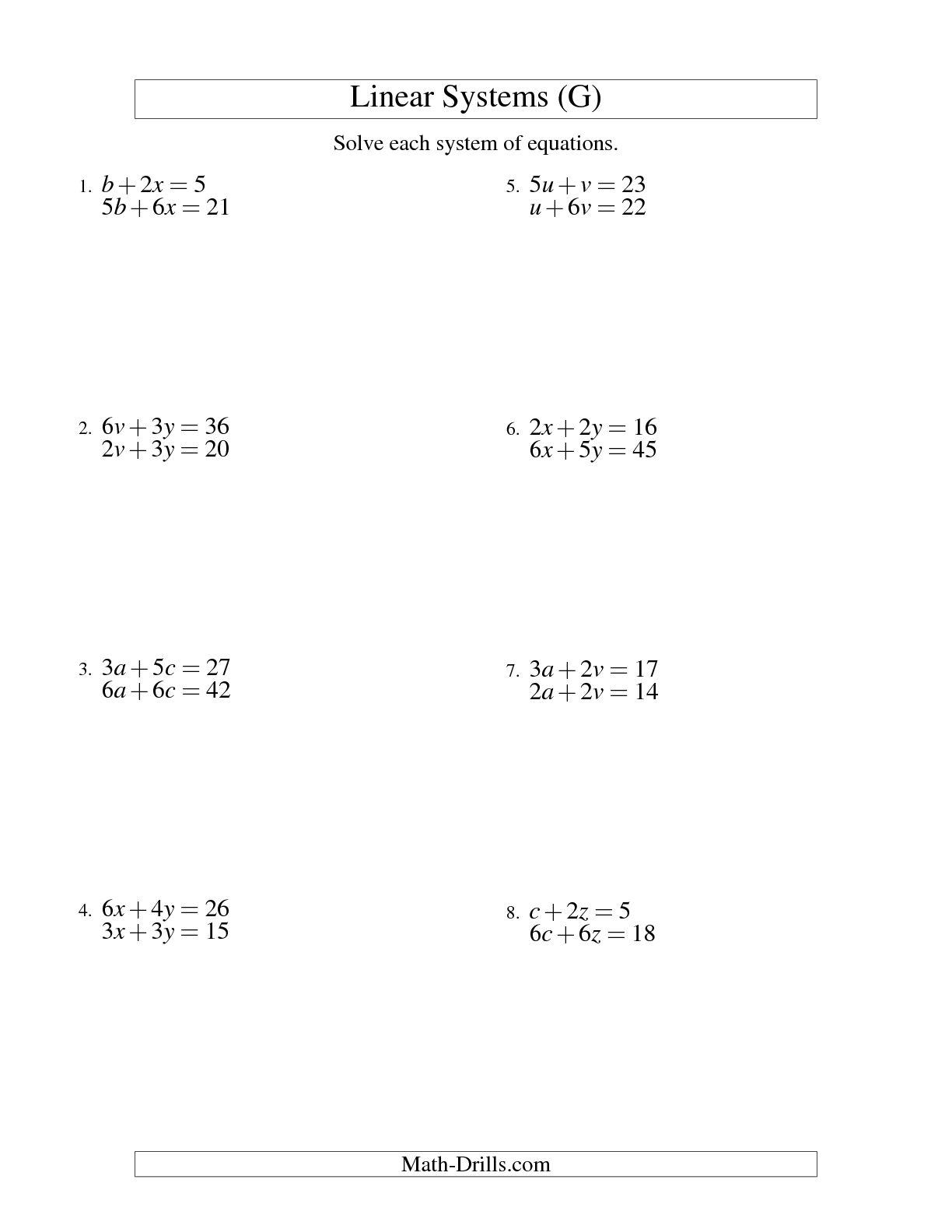 15 Best Images Of Algebra Worksheets 9th Grade Math Slope