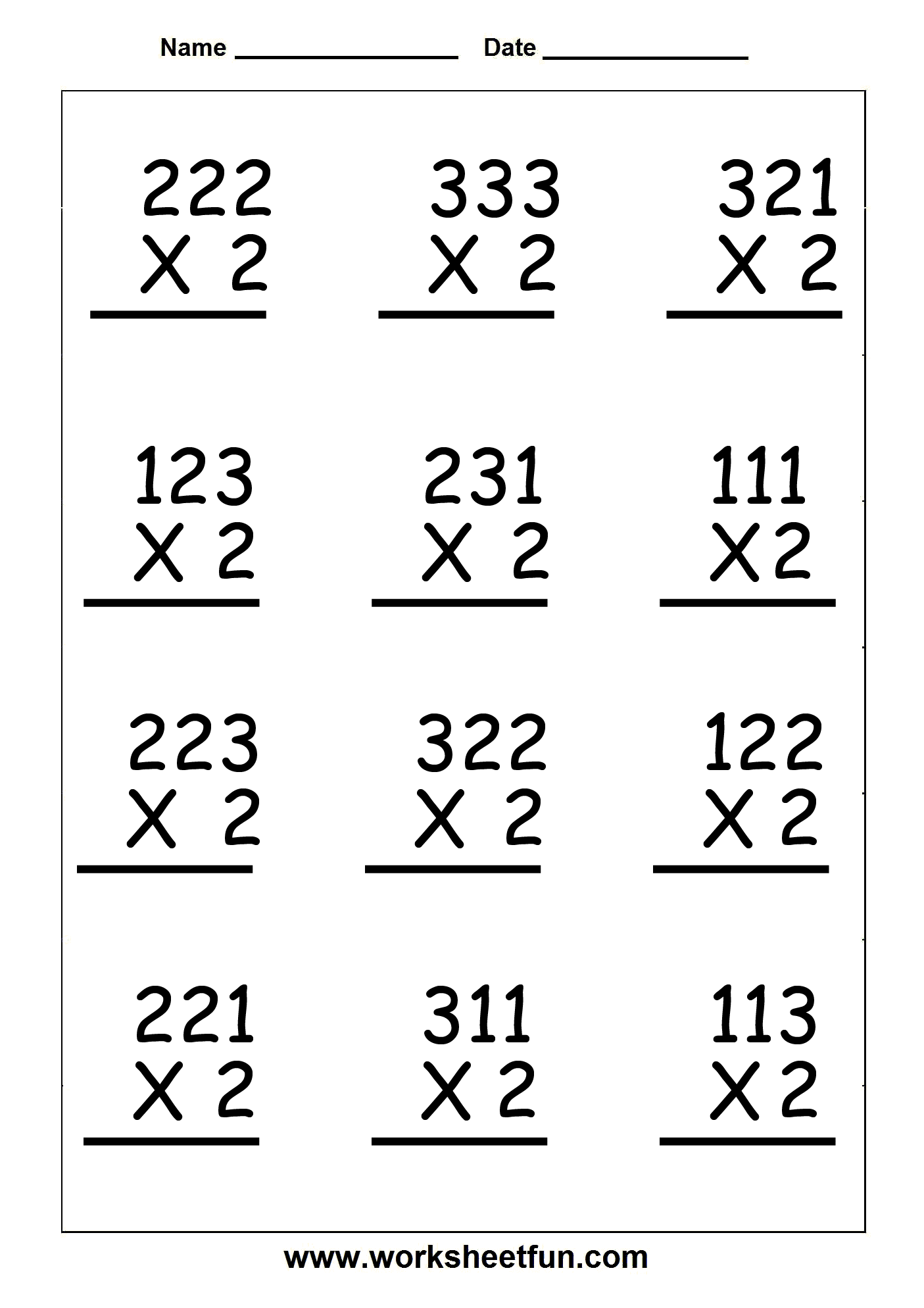 17 Best Images Of Three Digit Addition Worksheets