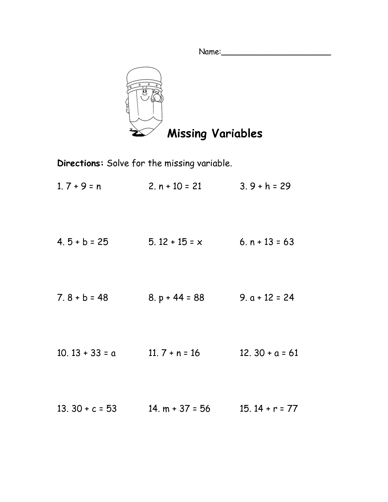 16 Best Images Of Negative Numbers Worksheets 5th Grade