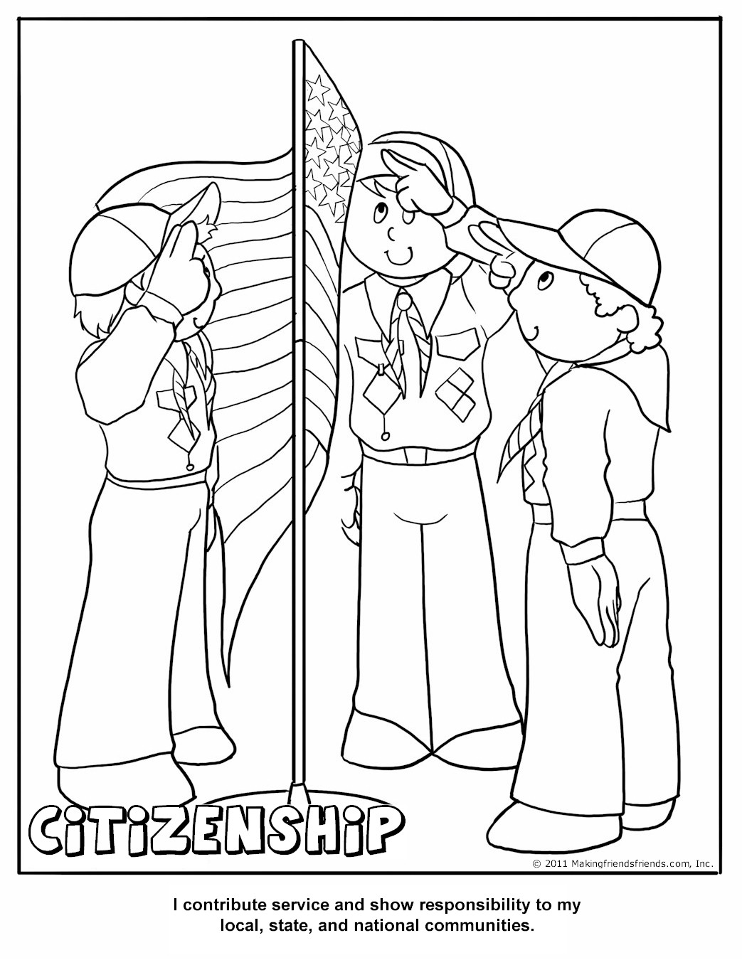 12 Best Images Of Printable Good Citizenship Worksheets