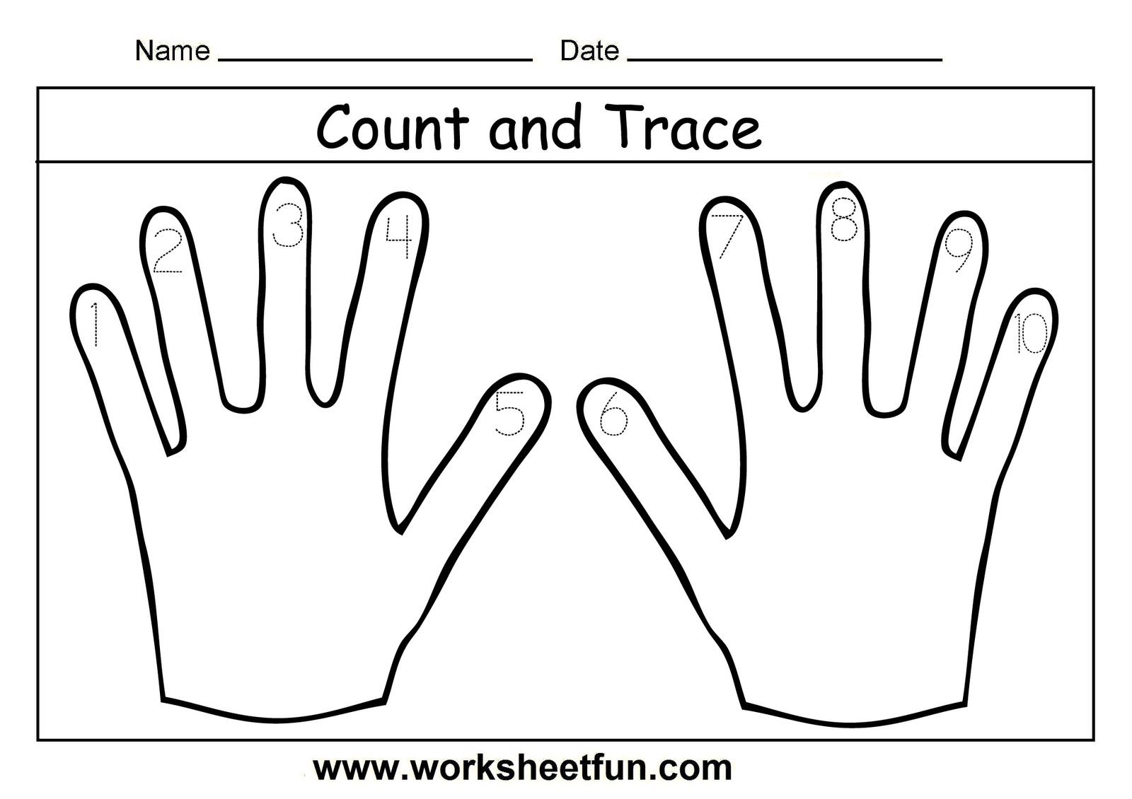 15 Best Images Of Preschool Tracing Numbers 1 20 Worksheet