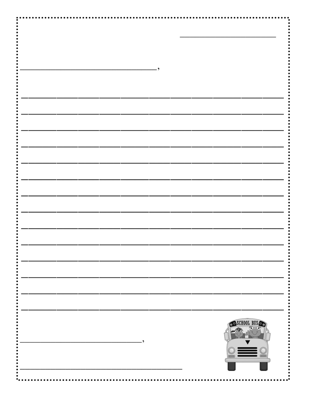 19 Best Images Of Friendly Letter Worksheet 2nd Grade