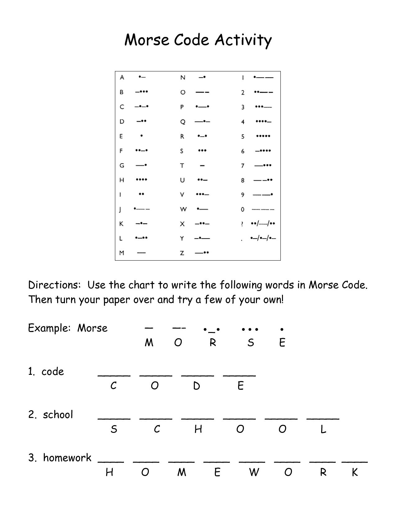 Secret Code Worksheet Ratios
