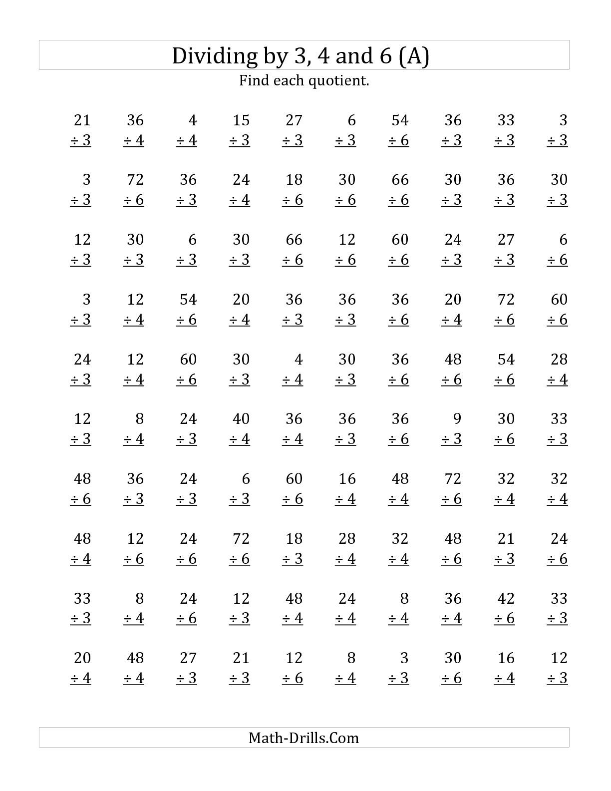 15 Best Images Of Long Division And Multiplication Worksheets
