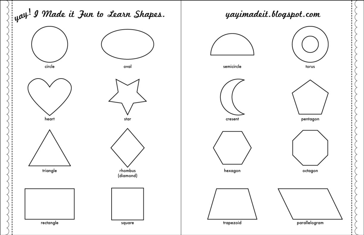 5 Best Images Of 3d Shape Recognition Worksheets