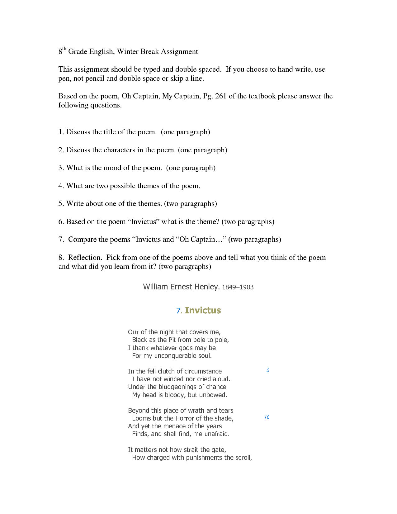 19 Best Images Of 8th Grade Language Worksheets