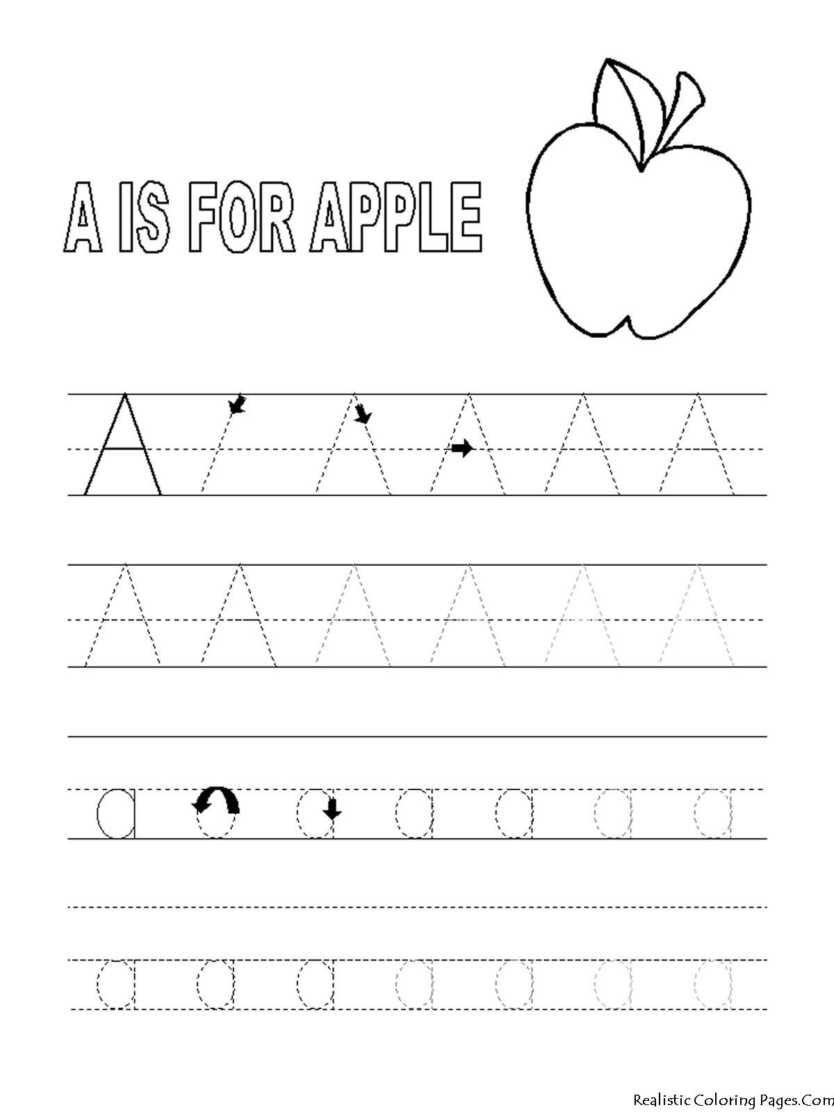 12 Best Images Of Printable Apple Worksheets