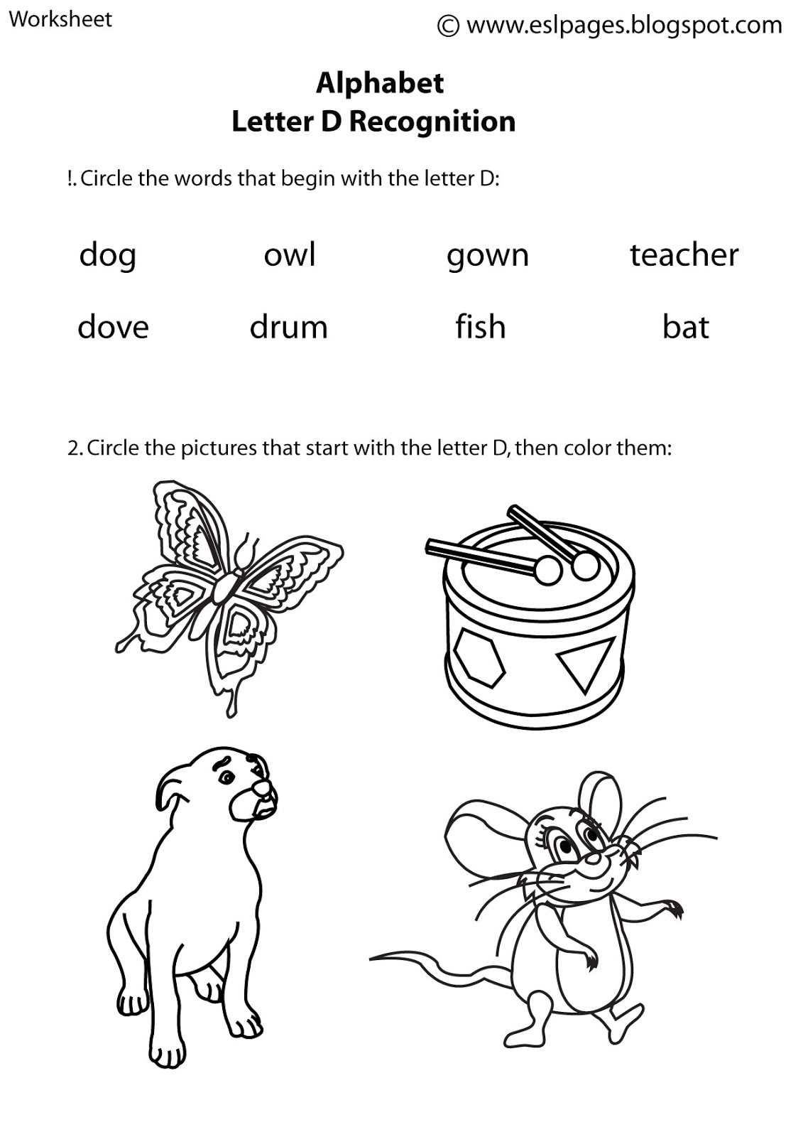 19 Best Images Of Students Esl Alphabet Worksheets
