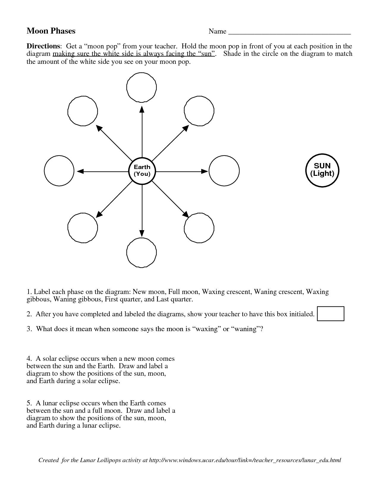16 Best Images Of Moon Images Of Worksheets Printables
