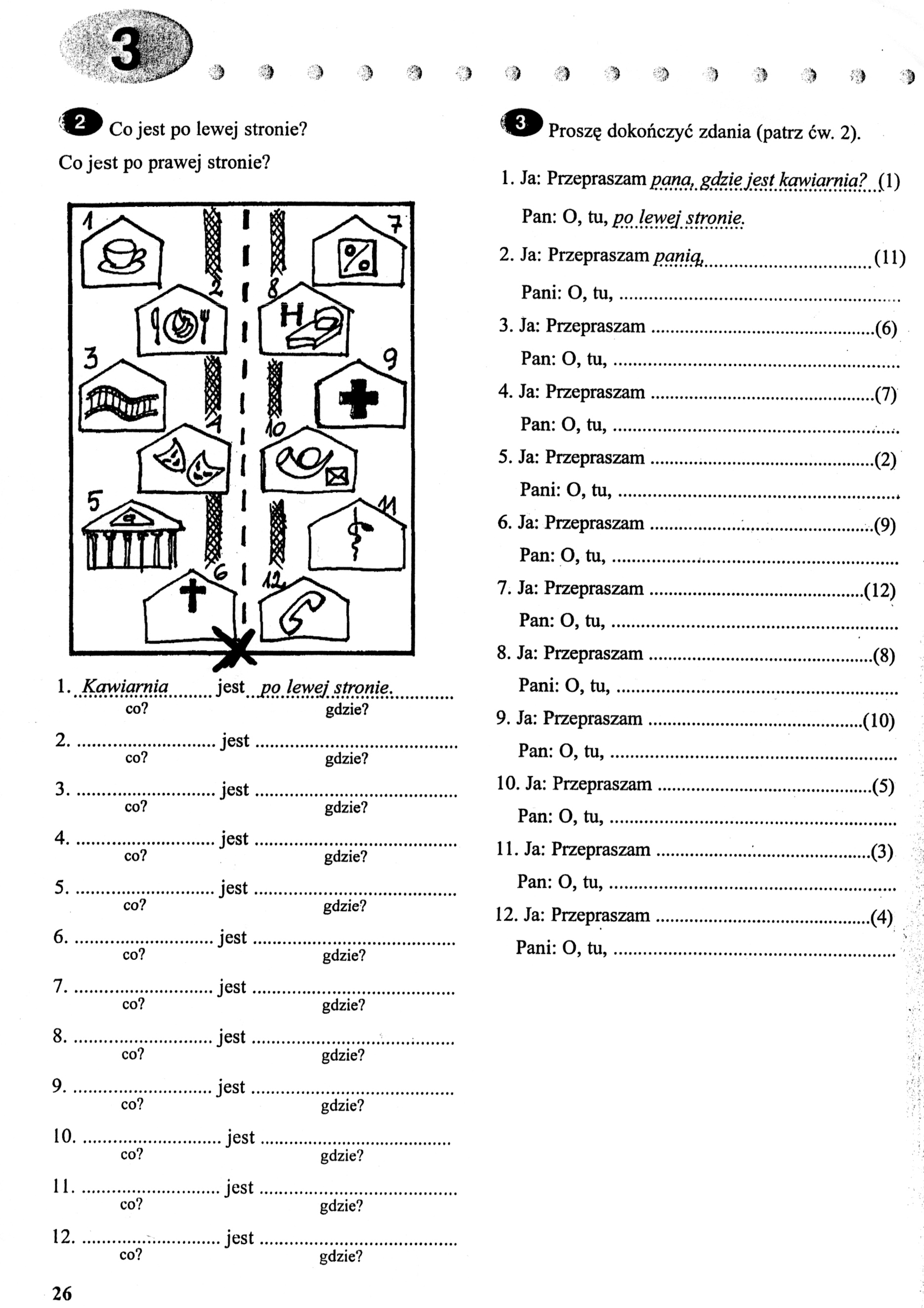 Four Directions Worksheet