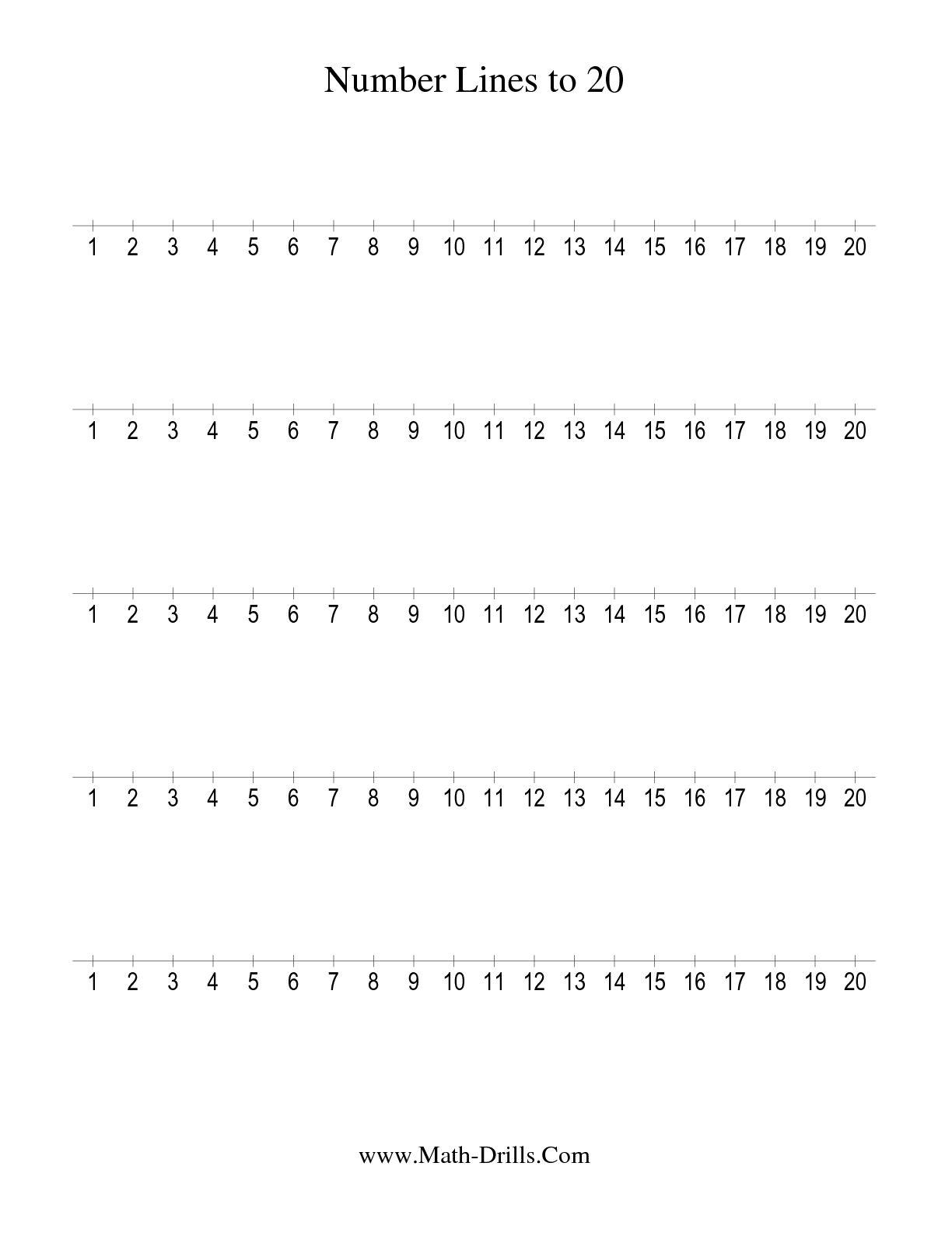 13 Best Images Of Algebra Number Line Worksheets