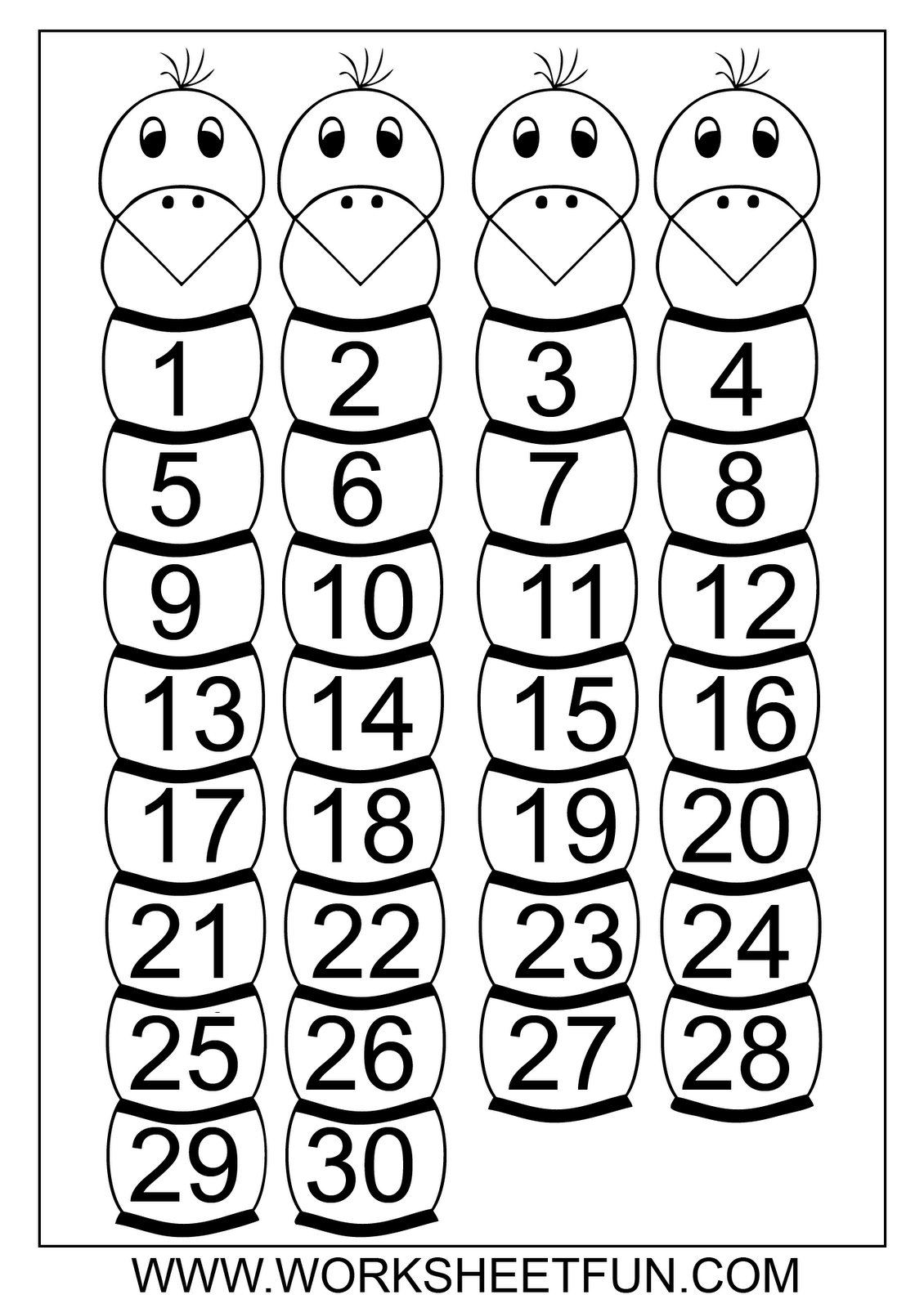 12 Best Images Of Kindergarten Counting Worksheets 1 100