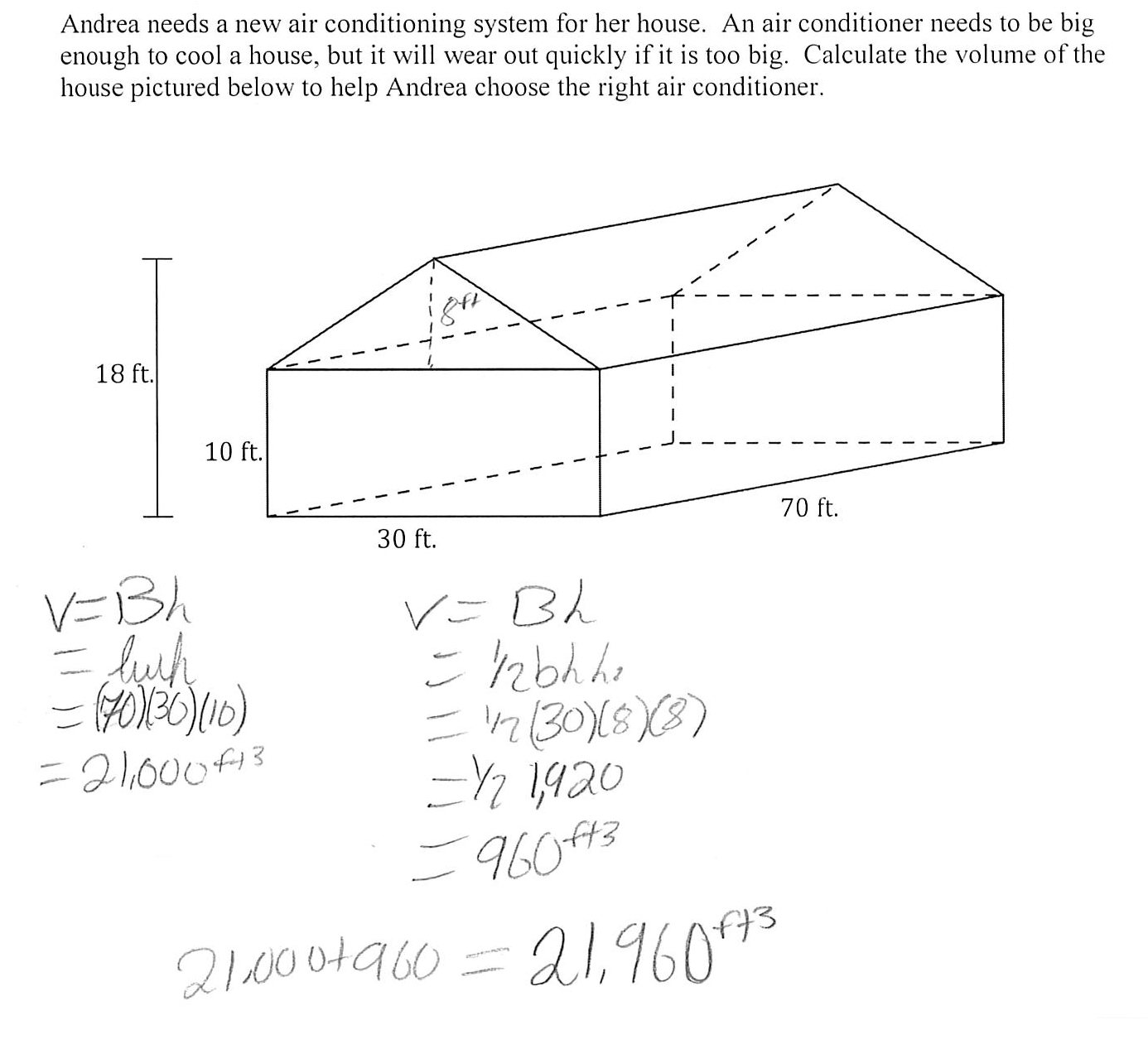 17 Best Images Of Volume Of Rectangular Pyramid Worksheet