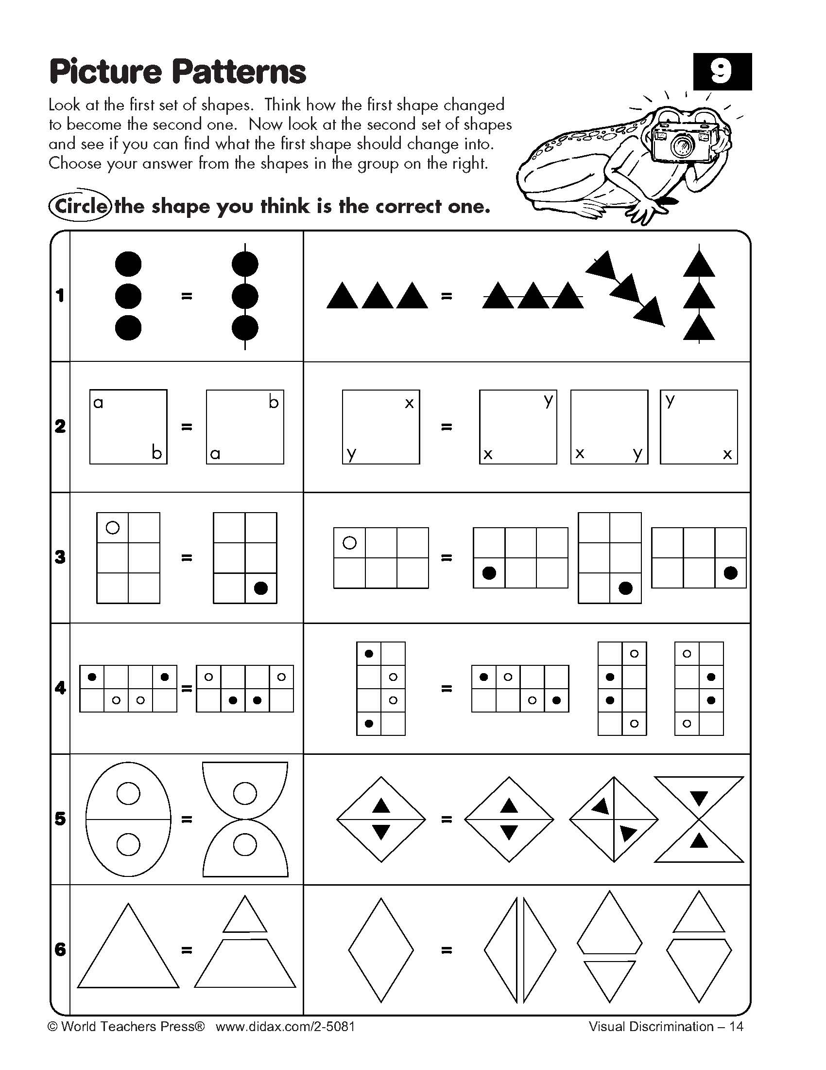 16 Best Images Of Logical Reasoning Worksheets 4th Grade
