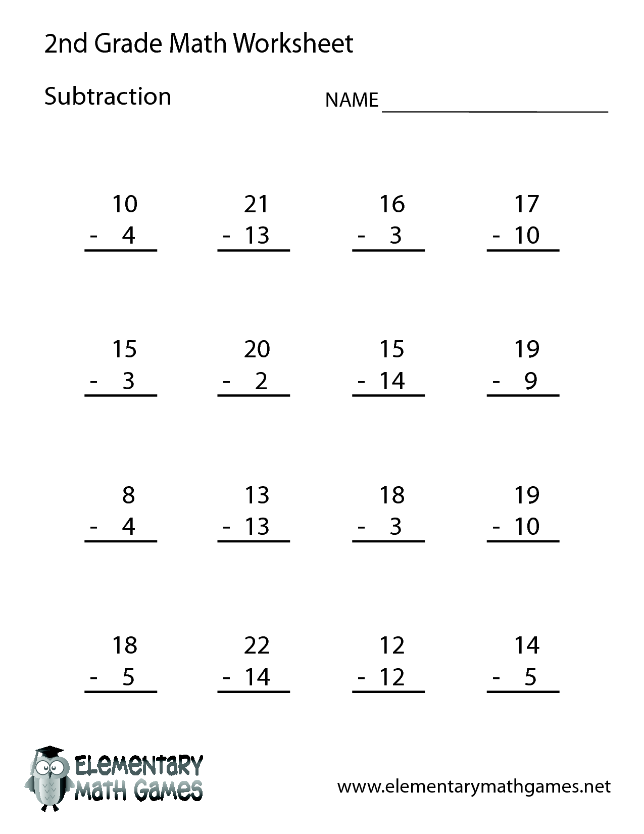 Wonderful 2nd Grade Math Worksheets 2nd Grade Worksheet
