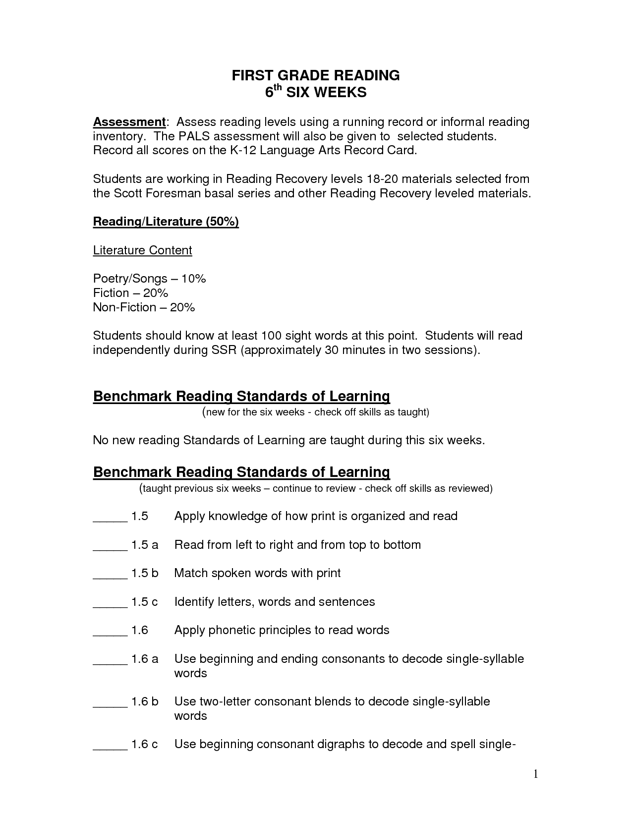 1st Grade Worksheet Category Page 8