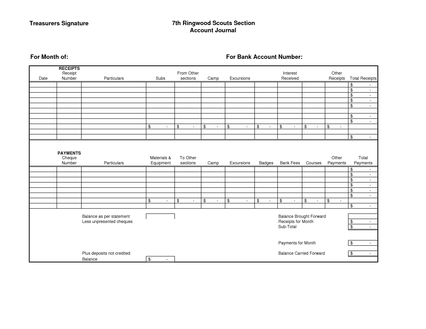 18 Best Images Of Personal Financial Worksheet Excel