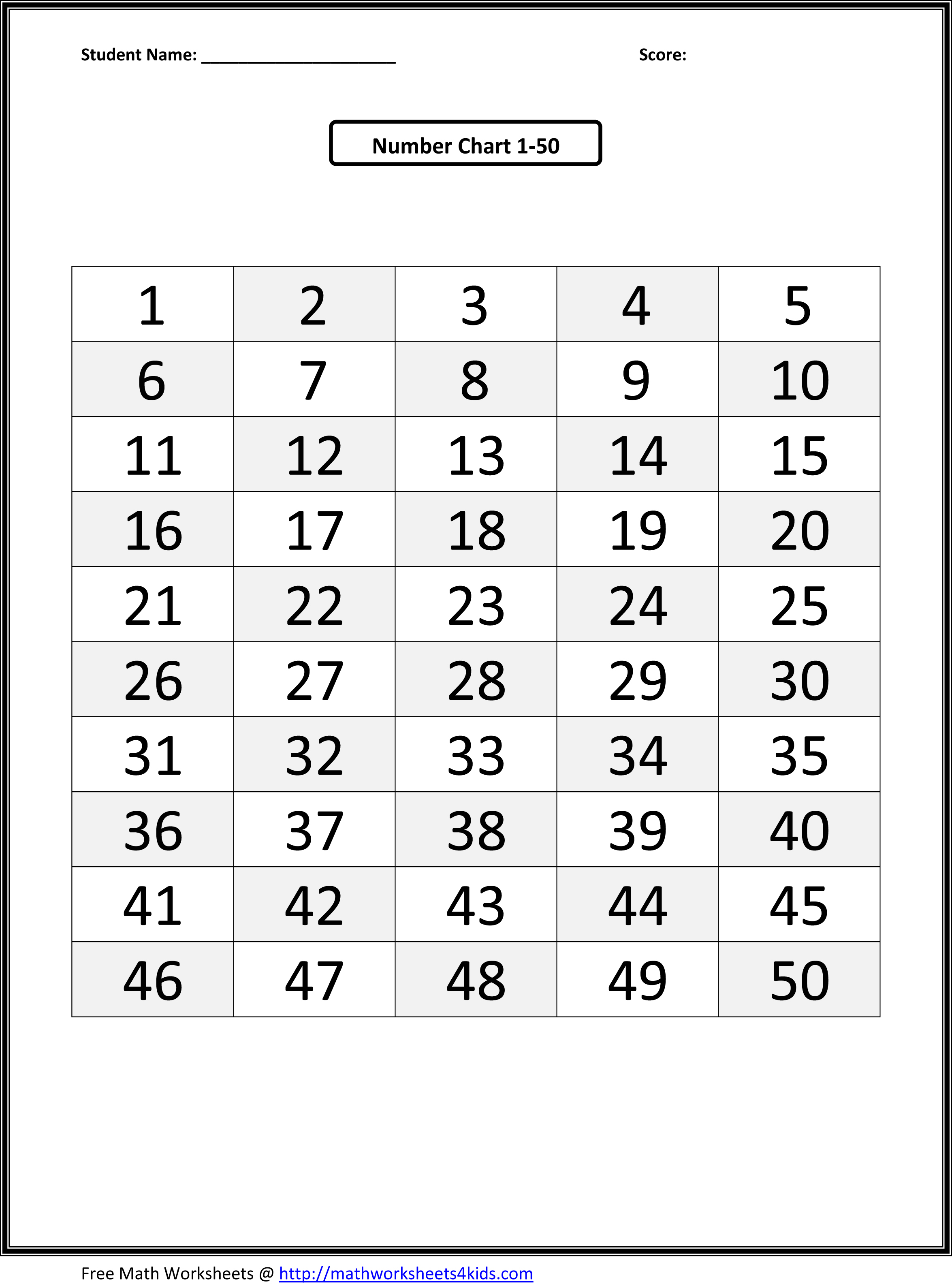 13 Best Images Of Preschool Number Sequence Worksheet