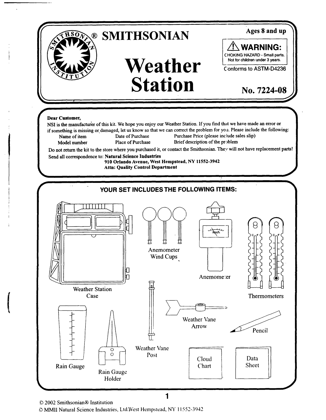 Weather Elements Worksheet