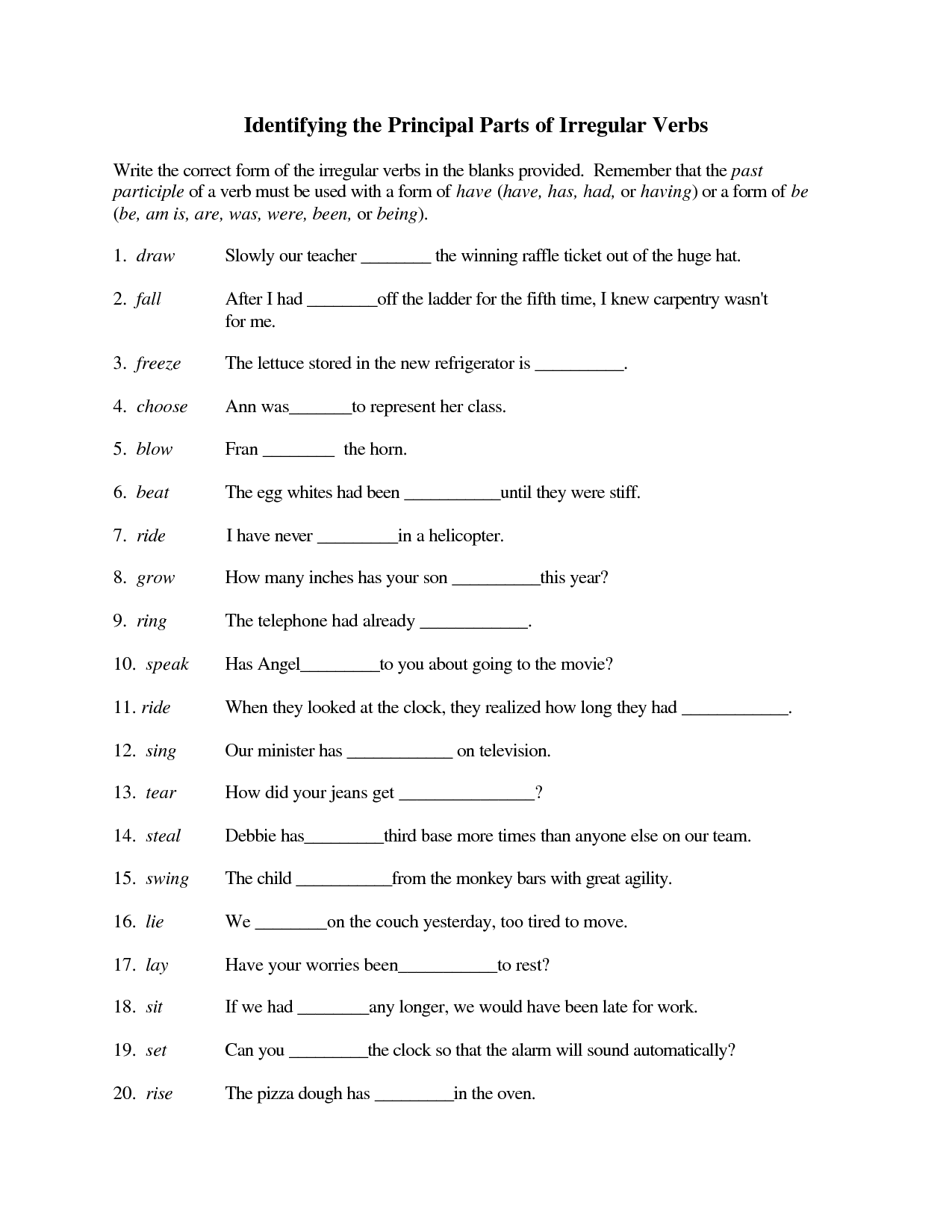 Other Worksheet Category Page 540