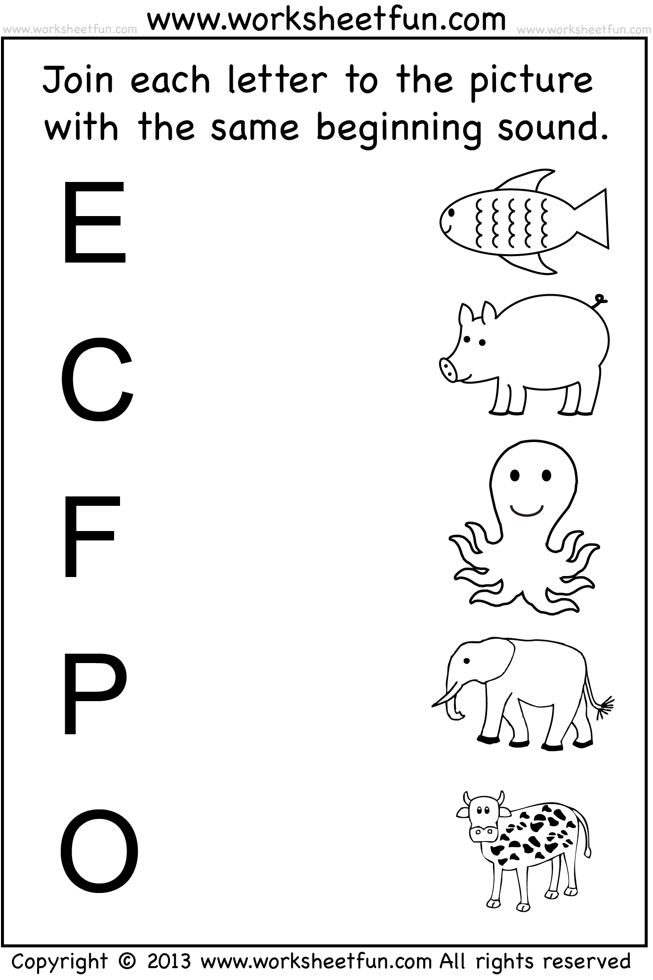 Winter Letter Recognition Worksheet
