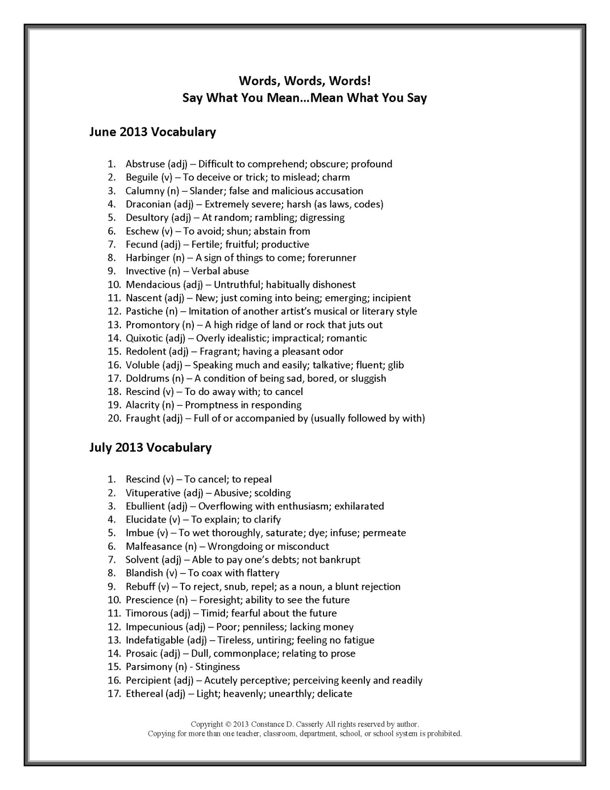 15 Best Images Of Vocabulary Building Worksheets High