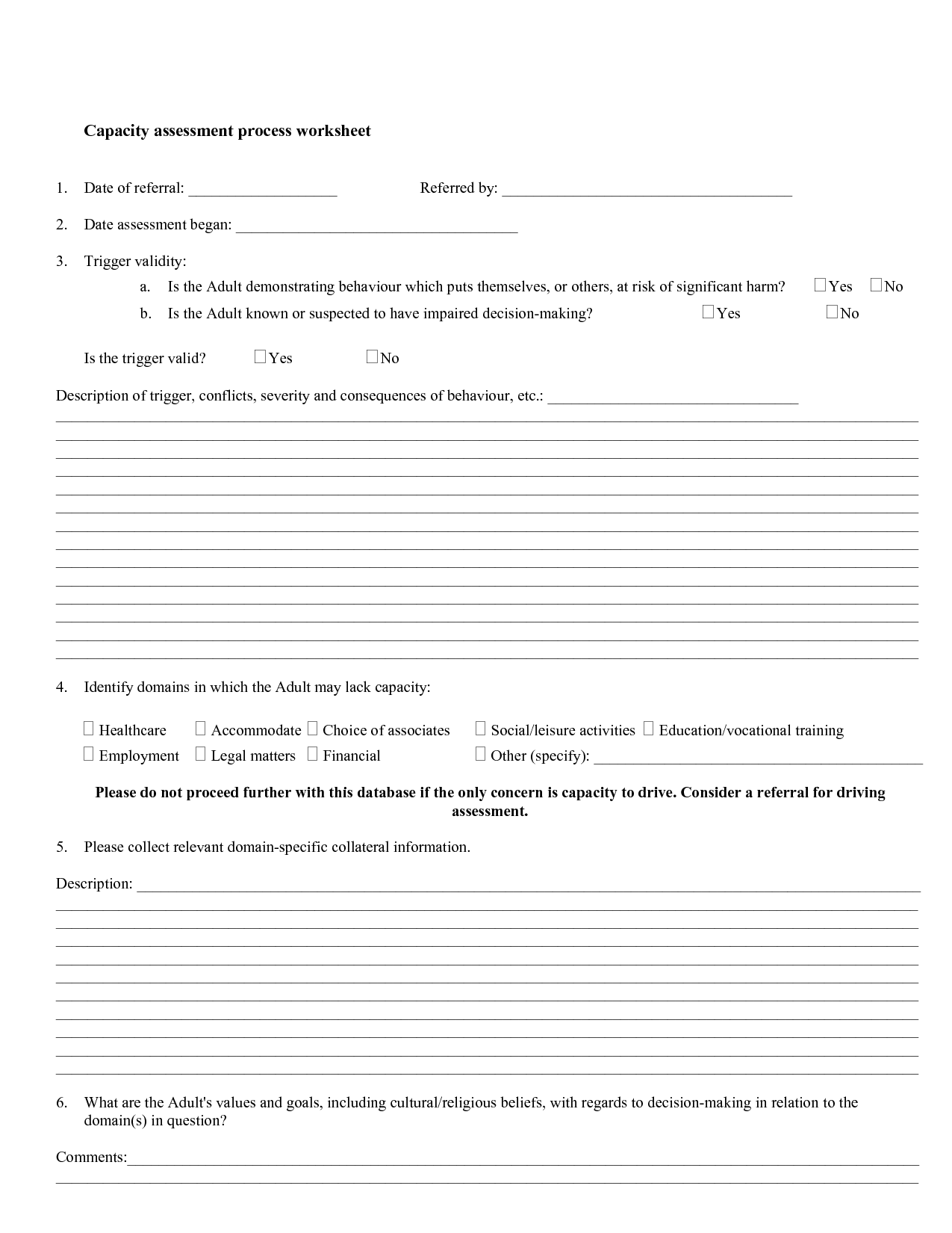8 Best Images Of Choices And Consequences Worksheet