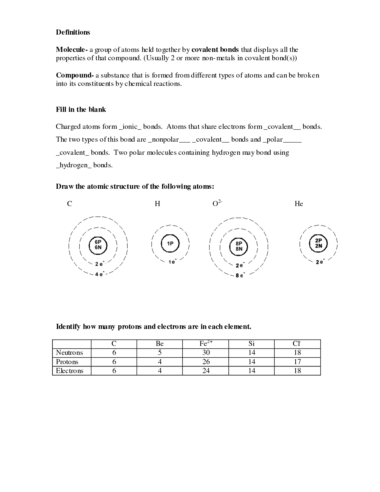 14 Best Images Of Types Of Reactions Worksheet Answers