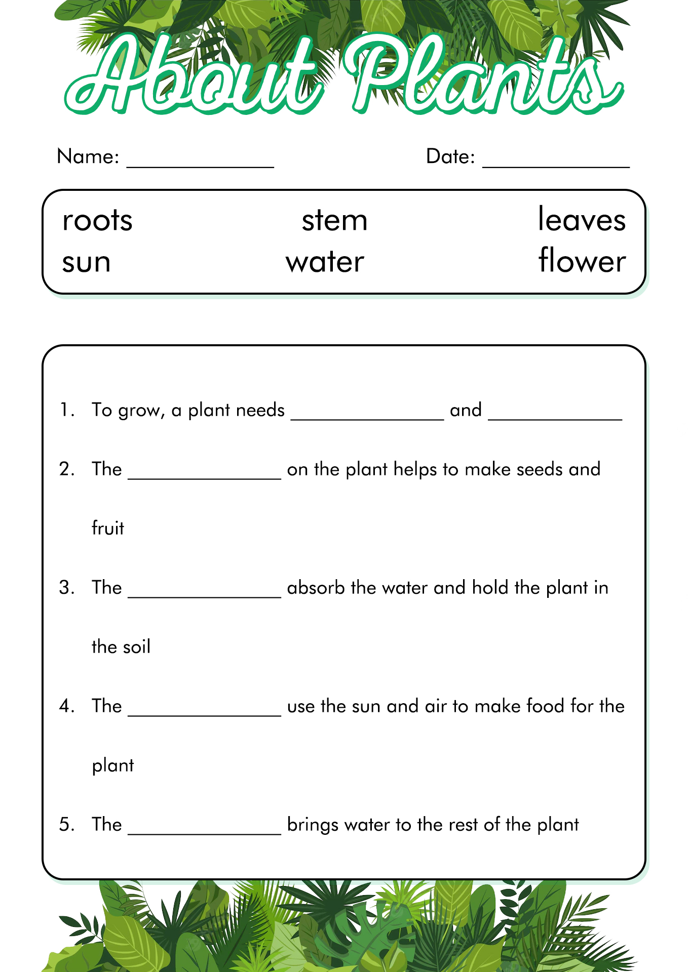 12 Best Images Of Worksheets Middle School Activity