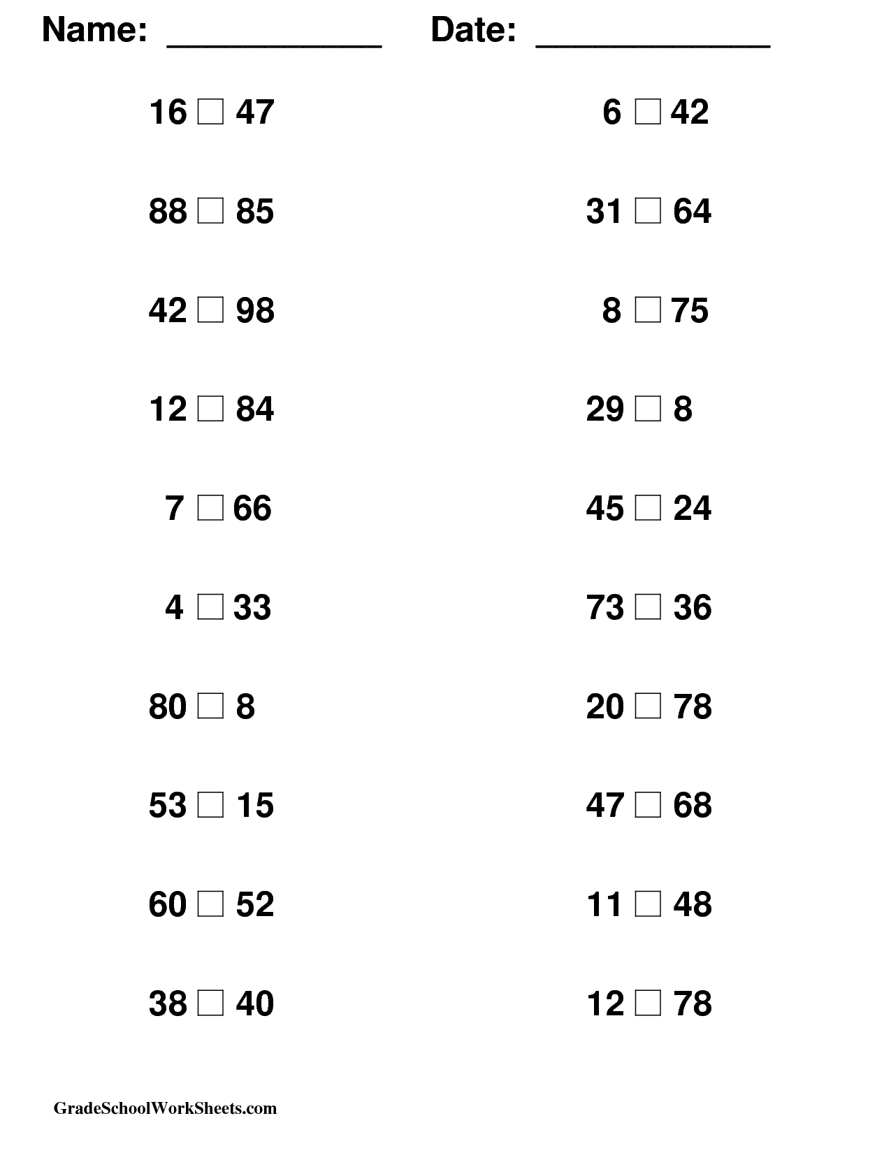 15 Best Images Of Middle School Math Worksheets Printable