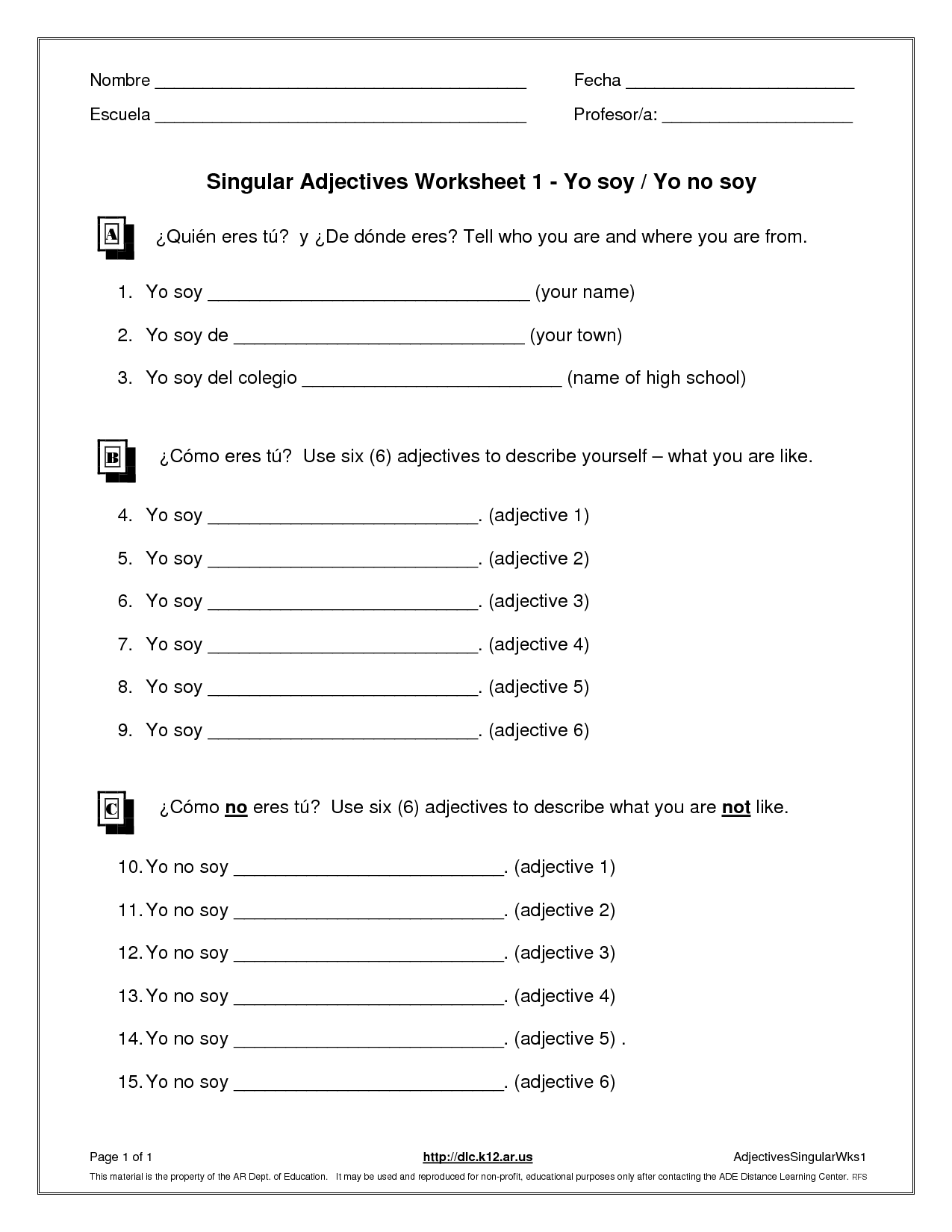 Anger Management Worksheet For Men