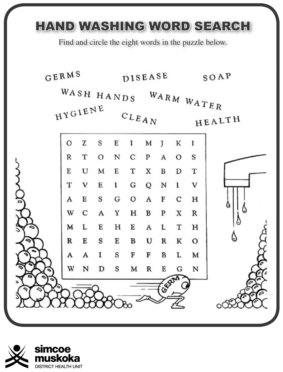 19 Best Images Of Hygiene Worksheets For Elementary Students