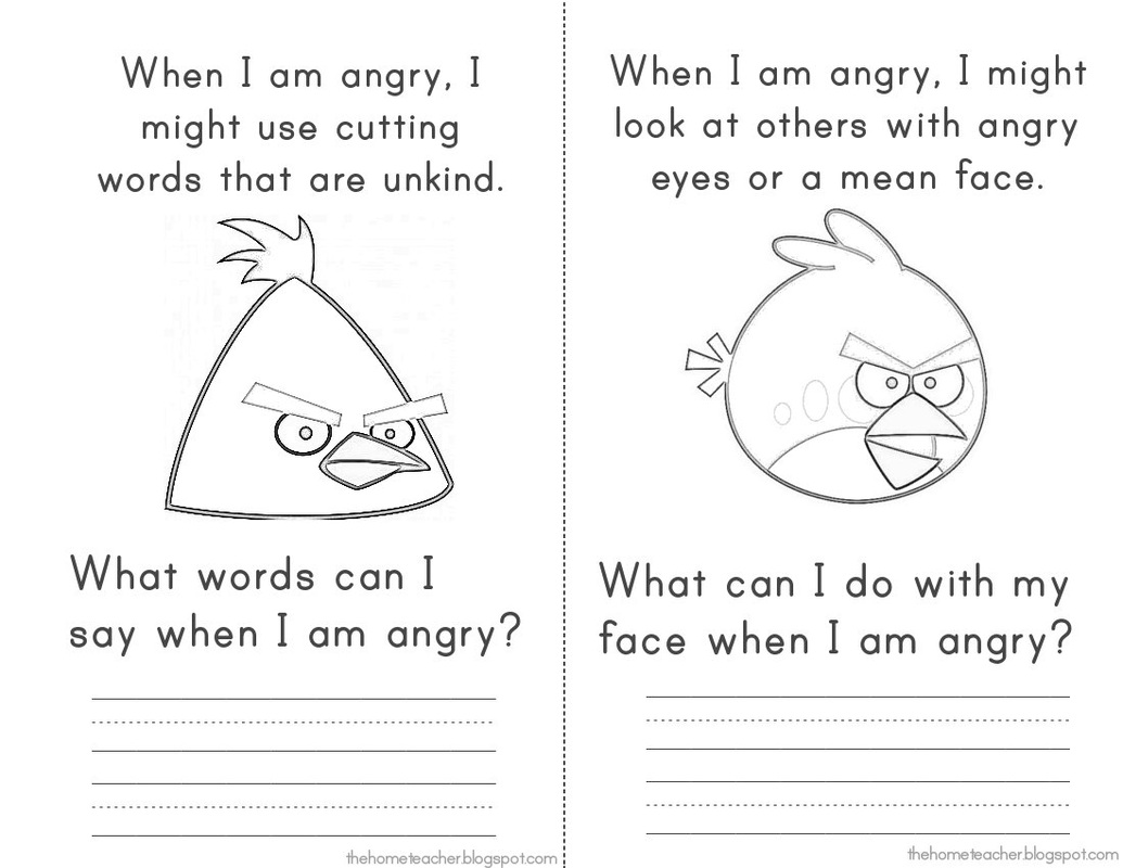 11 Best Images Of Worksheets For Anger Management Groups