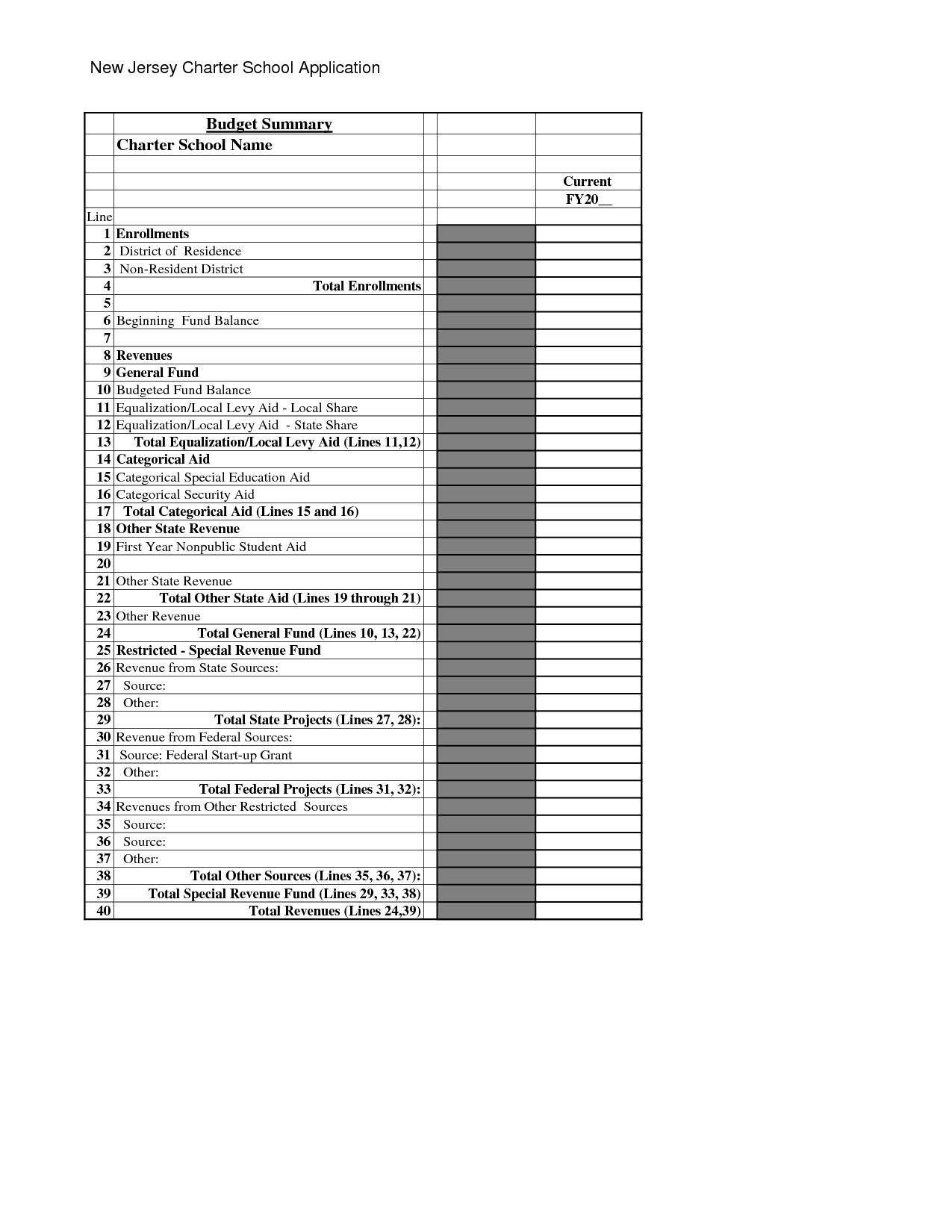 Printable Cash Flow Worksheet