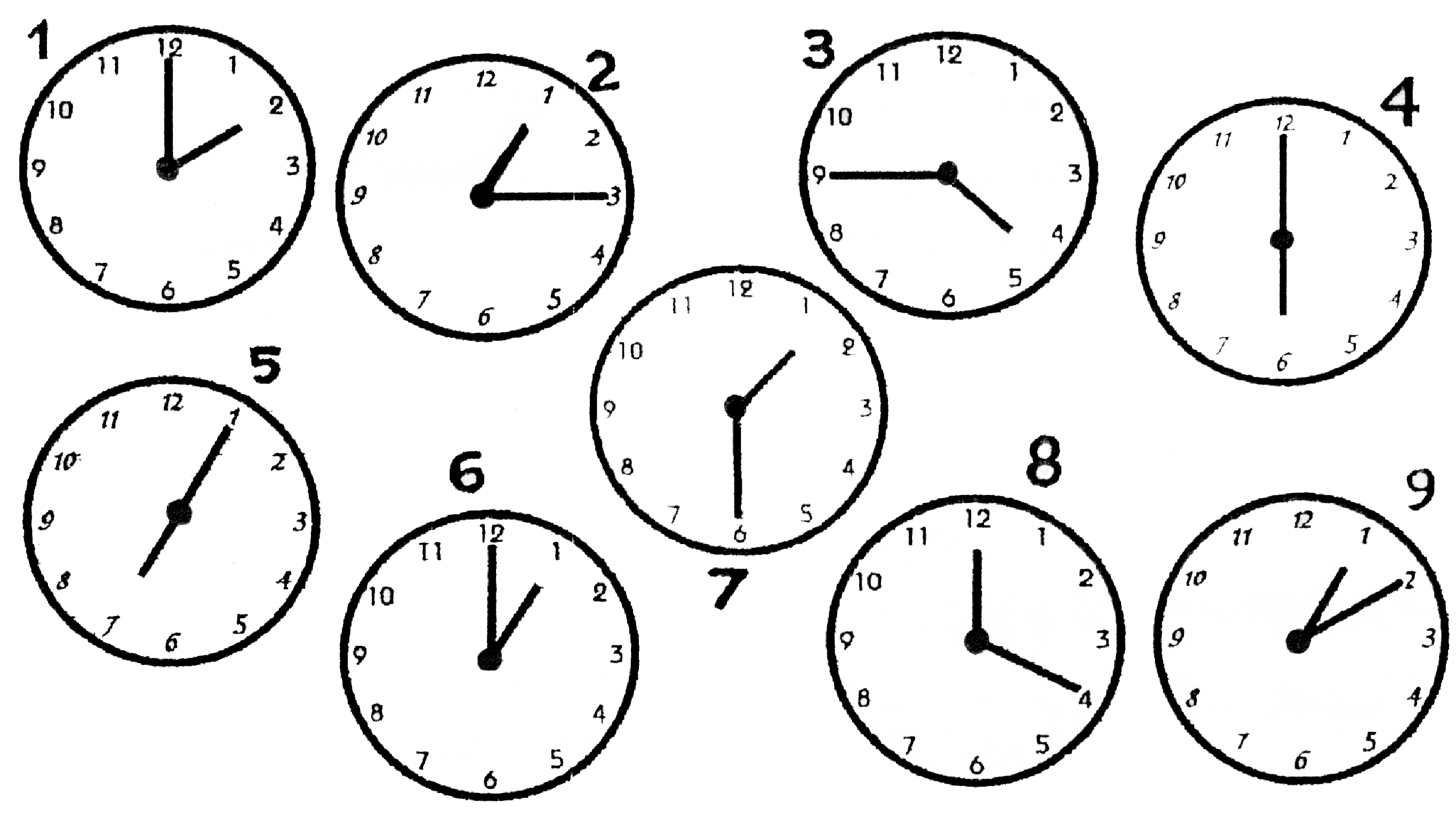 14 Best Images Of Clock Worksheets 15 Minutes