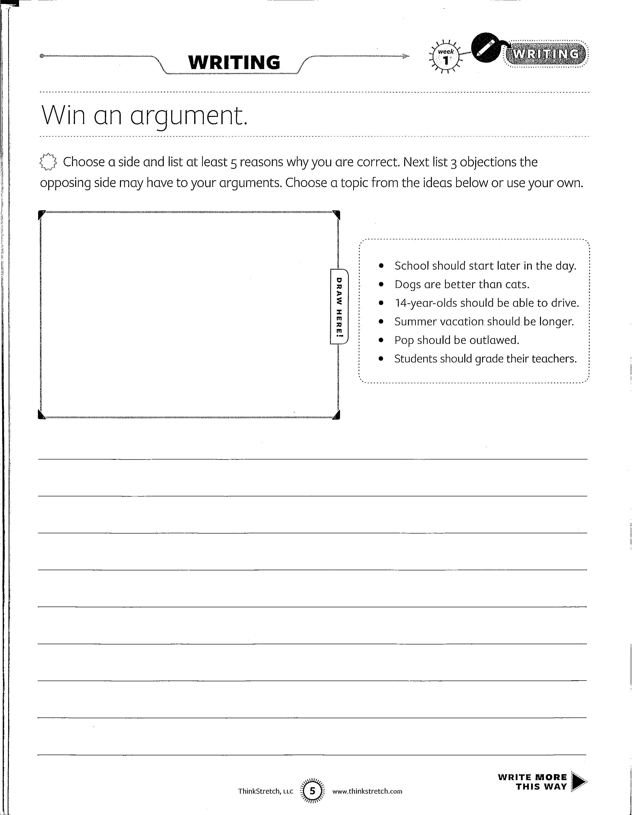 18 Best Images Of Writing Dialogue Worksheets Middle