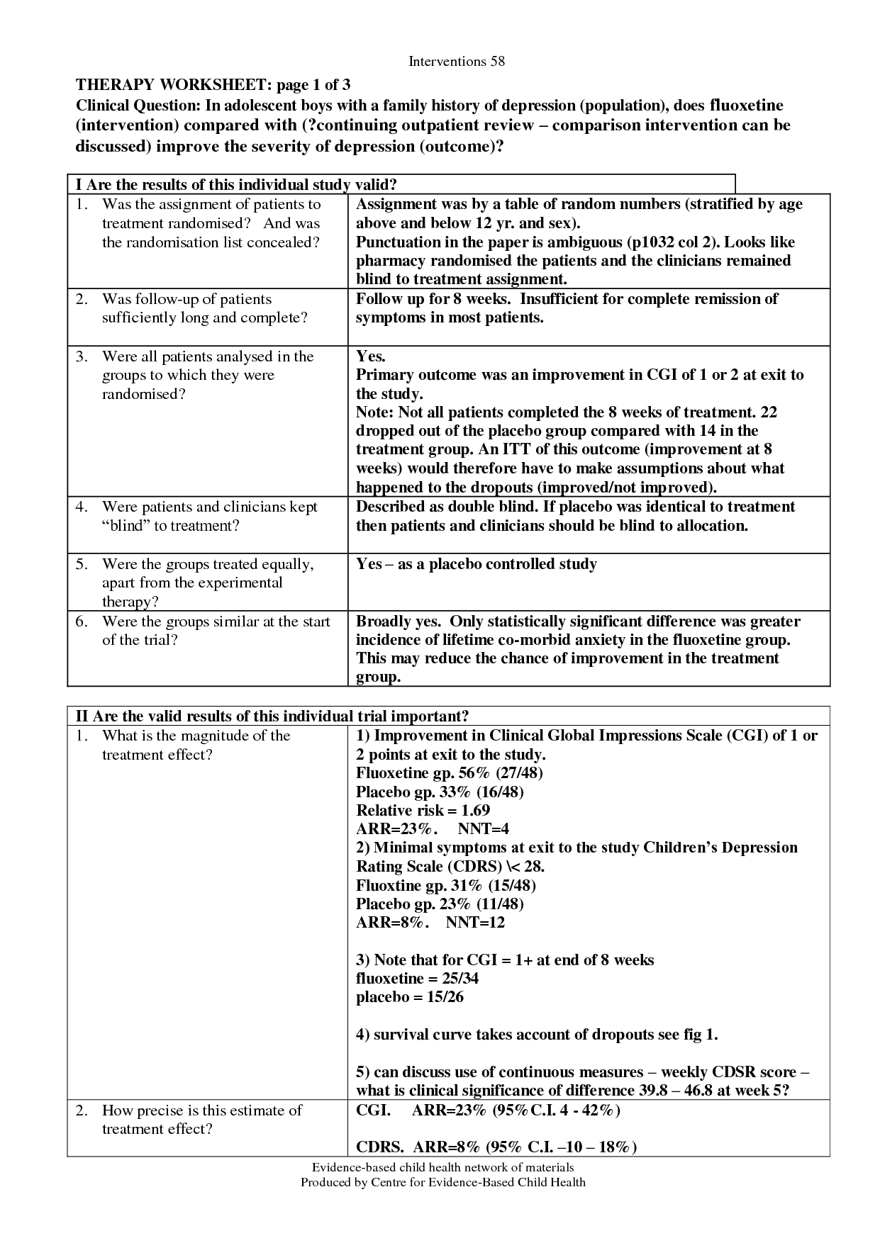 16 Best Images Of Depression Therapy Worksheets