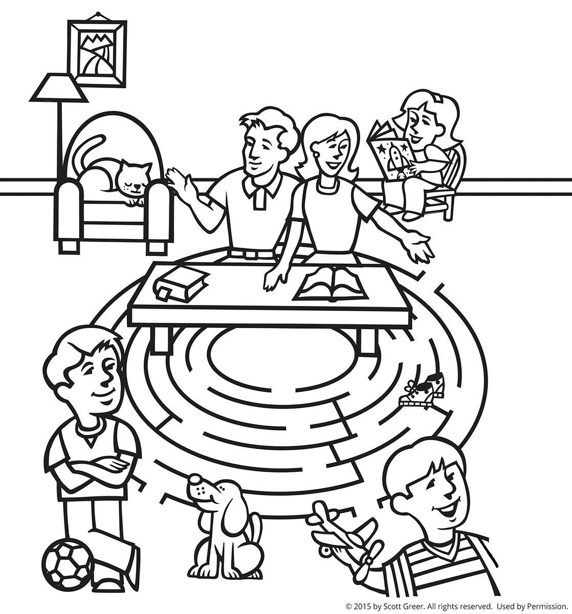 13 Best Images Of Family Members Worksheet Kindergarten