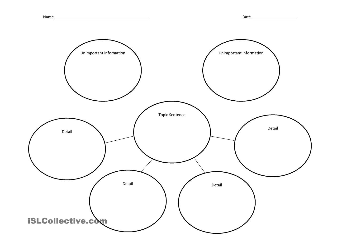 11 Best Images Of Bubble Map Worksheets