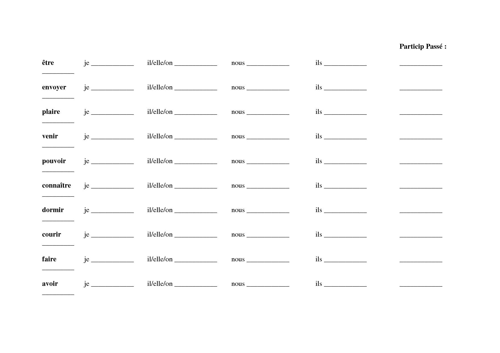 Worksheet For Grade 2 French