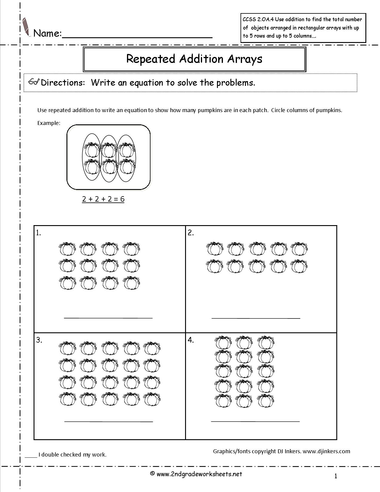 12 Best Images Of Pumpkin Addition Worksheet