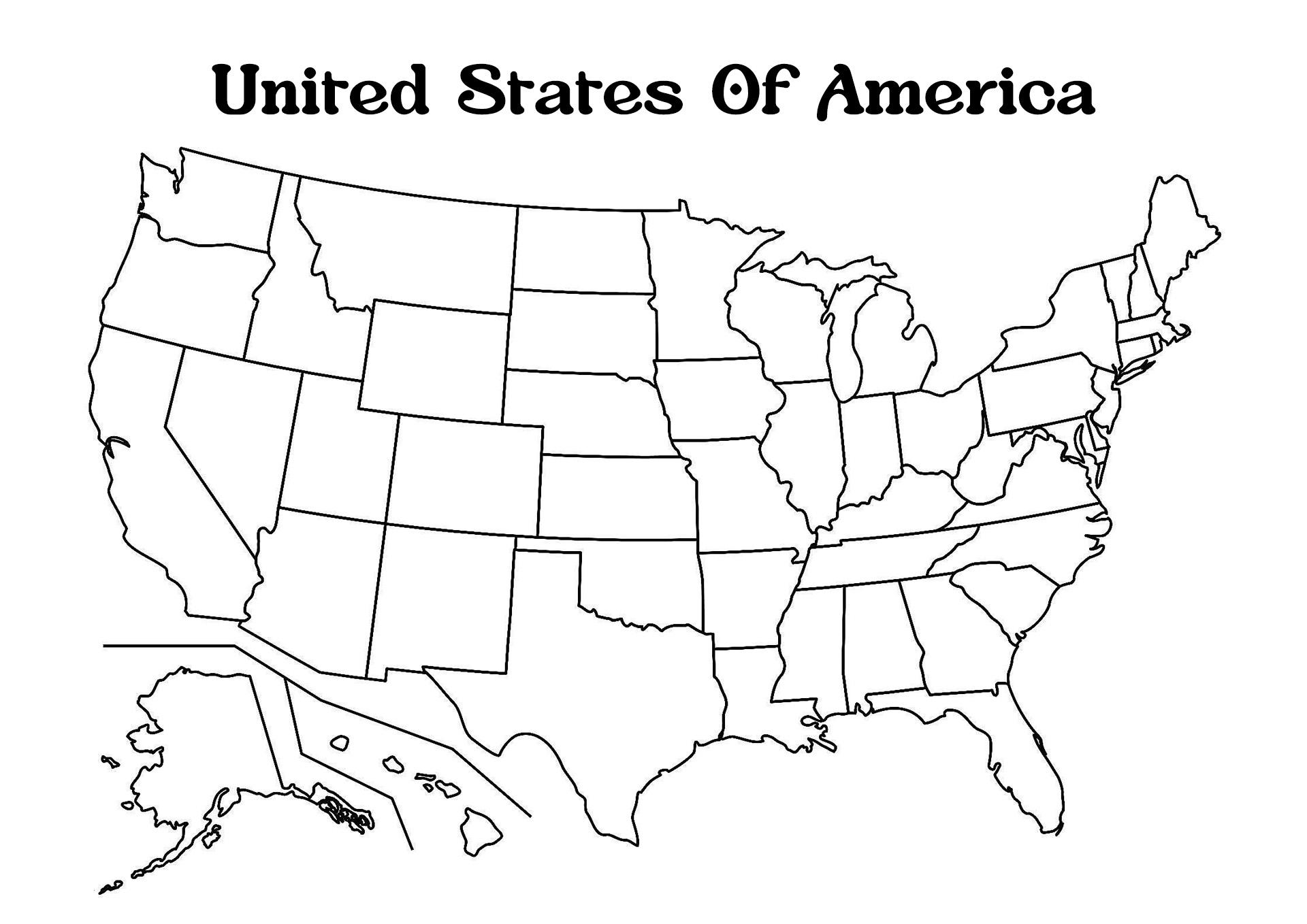 11 Best Images Of Blank Map Worksheet