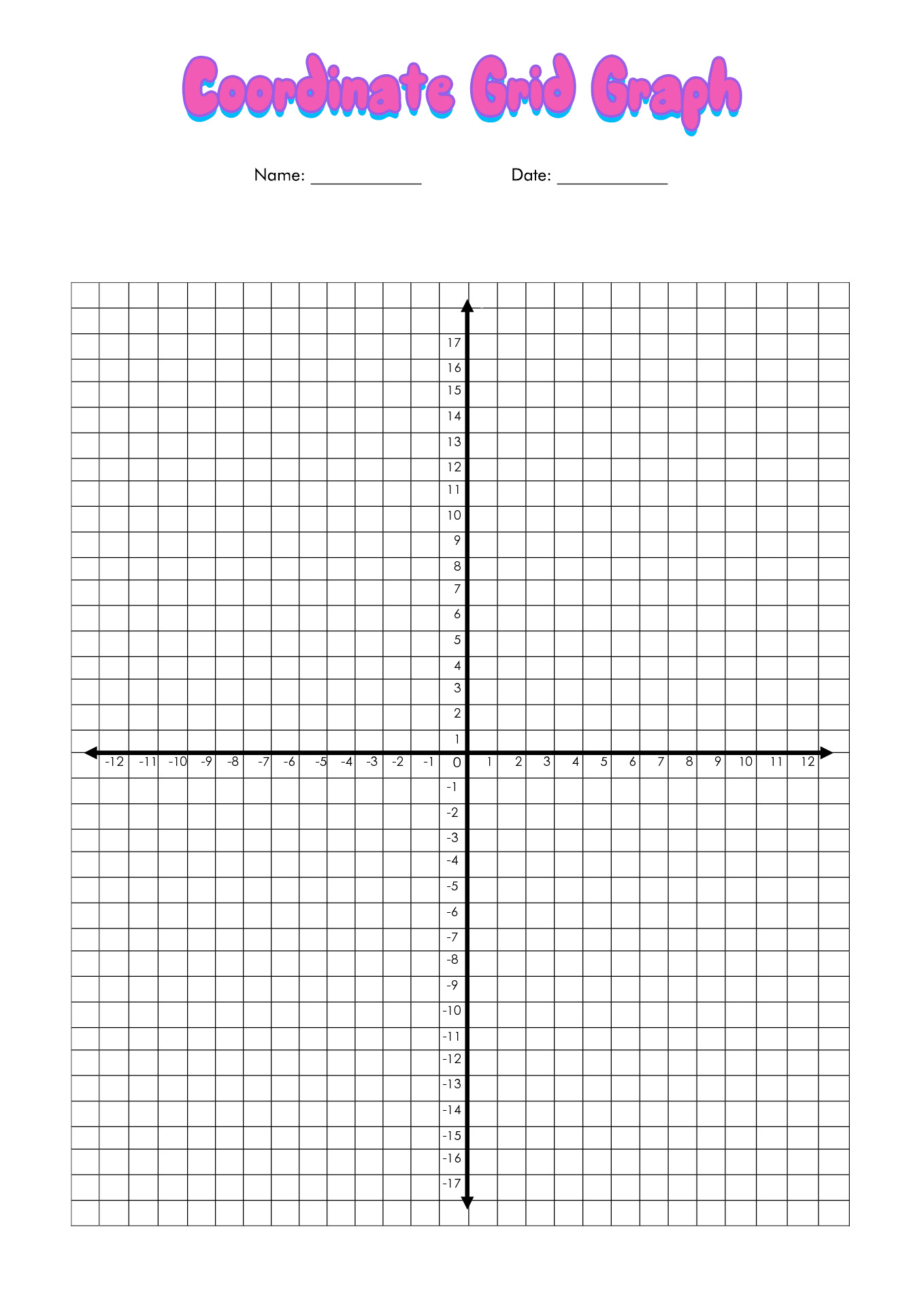 9 Best Images Of Free Coordinate Grid Worksheets