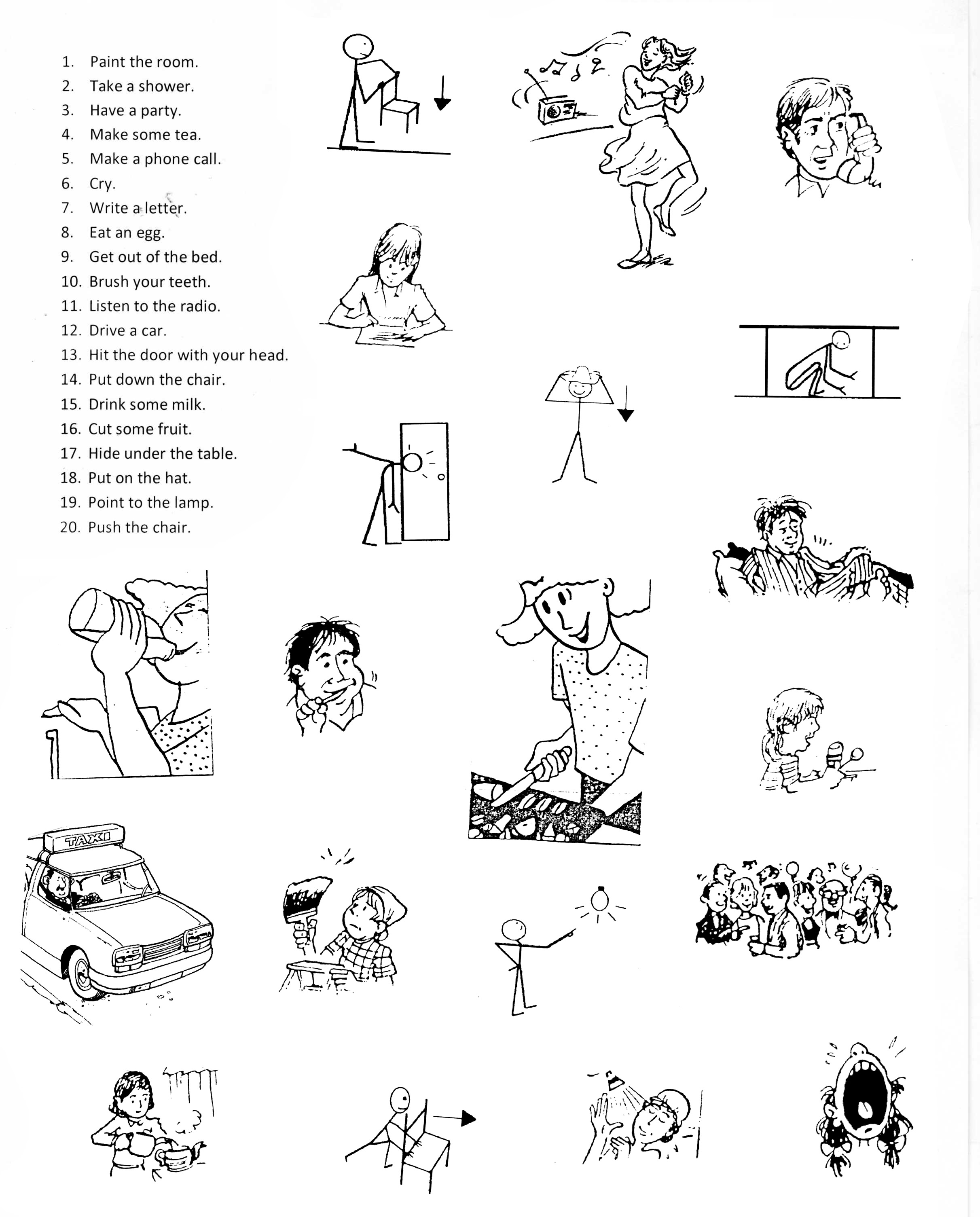 19 Best Images Of Verb Worksheets For Beginners
