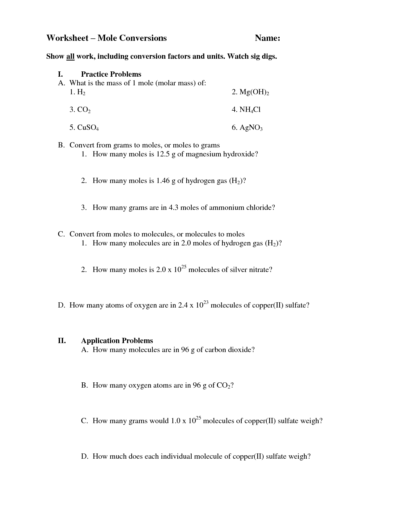 12 Best Images Of Empirical Formula Worksheet With Answers