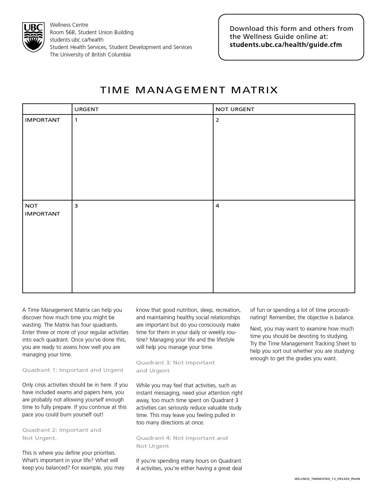 15 Best Images Of Time Management Worksheet