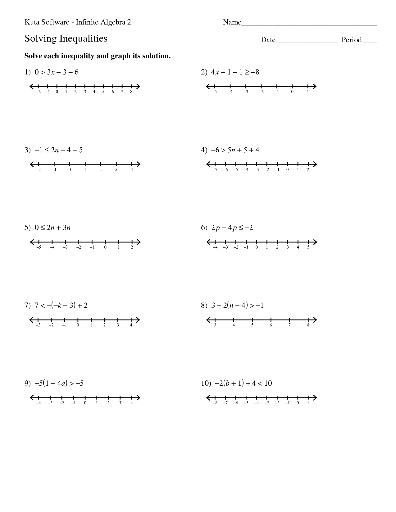 31 Kuta Software Infinite Geometry Worksheet Answers